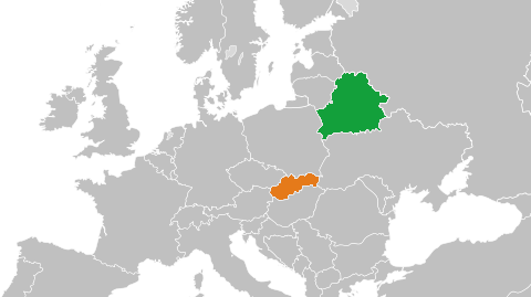 BelarusSlovakiaMap The Daily Slovak News