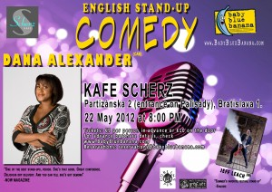 Bratislava Comedy May 2012