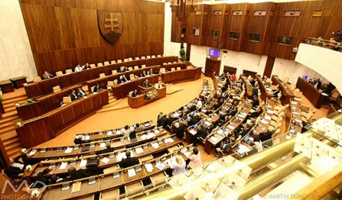 Opposition MPs not standing together (c) Martin Domok - mdpix.sk