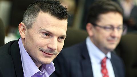 Transport and EU funds minister Jan Pociatek (c) MDpix.sk