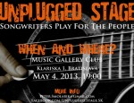 newUnplugged Stage May 2013